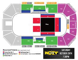 Nxt Seating Chart Wwe Presents Nxt Live Nxtomaha Ralston Arena