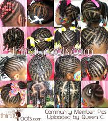 African american women adopt short hair for a stylish and fashionable look instead of ordinary look with traditional hair. Braids For Kids Nice Hairstyles Pictures