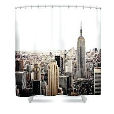 city shower curtain new city shower curtain featuring the photograph new city skyline by target cityscape