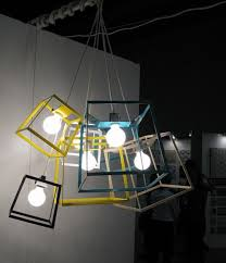 funky lighting. in the right setting this could be a fun funky light fixture lighting w