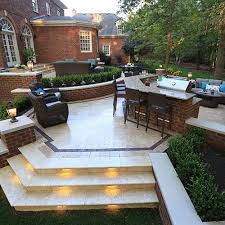 Terraced Patios Multi level Patios The Clearwater Group