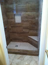 nice design wood tile bathroom shower wood plank ceramic tile shower tile designs