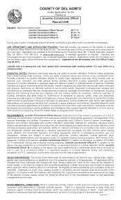 Resume For Juvenile Detention Officer Http Www Resumecareer Info