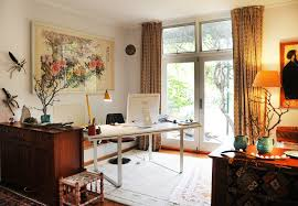eclectic design home office. Home Eclectic Office Alison Marvelous With Regard To Design B
