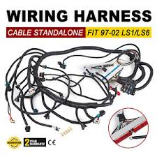 1997 2002 dbc ls1 standalone wiring harness t56 or non electric image is loading 1997 2002 dbc ls1 standalone wiring harness