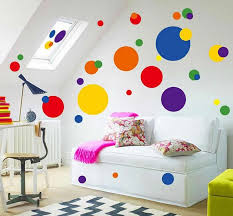 polka dots wall stickers wall decals