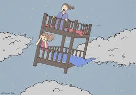 headoflesliecom Flying Bunk Bed