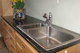 compared to my old countertop the new faux top looks 100 better in fact after i finished the install a neighbor dropped by and oohed and aahed and