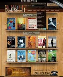 Free Bookstore Website Template Books Website Templates From Www Bootstrap Template Com