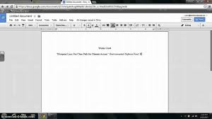 How To Make A Works Cited Page In Mla Format Youtube