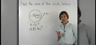 how to find the area of a circle when you know the diameter math wonderhowto