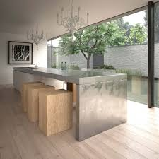 Kitchen Island Table Stainless Steel Kitchen Table Which Can Also Be Used As A Kitchen