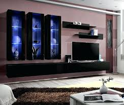 modern wall tv stands details about idea black modern wall unit living room entertainment center stand