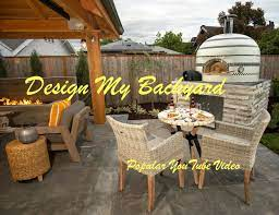 design my backyard paradise red