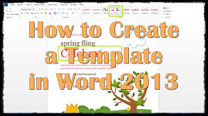 Creating A Template - April.onthemarch.co
