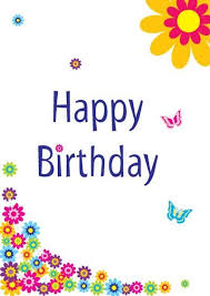 Pin By Janice Schachner On Birthday Clip Art Happy Birthday Happy