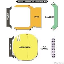 48 Prototypical Uihlein Hall Marcus Center Seating Chart