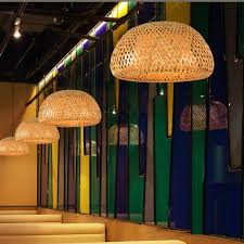 bamboo pendant lighting. Modern Bamboo Work Hand Knitted Pendant Lamp Good Price With Shades For Lighting