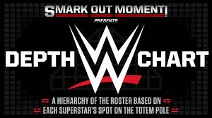 Wrestling Moves Chart Wwe Roster List Hierarchy Of Superstars Wwe Depth Chart Of