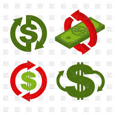 Cashback Icon Set Return Of Money Refund And Currency Exchange