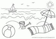 Small Picture Printable beach coloring page Free PDF download at http