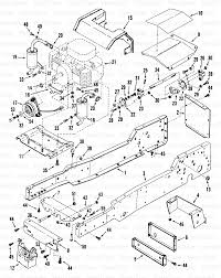 snapper lt12502 snapper 12 5 hp lawn tractor disc drive series 2 snapper lt12502 snapper 12 5 hp lawn tractor disc drive series 2 frame engine drive parts diagram and parts list partstree com