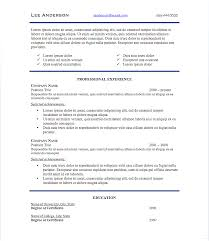 Recommended Font Size For Resume Finance Resume Font Size Best