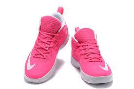 lebron pink shoes. nike-ambassador-9-ix-lebron-james-peach-pink- lebron pink shoes [
