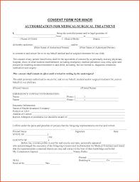 Sample Medical Treatment Authorization Letter