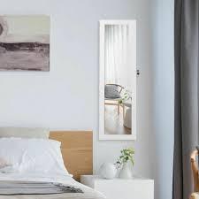 costway wall door mounted mirror