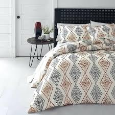 black and white aztec bedding red black off white southwest theme duvet cover king black and white aztec bedding