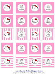 hello kitty birthday party printables pastel pink hello kitty party ideas decor planning pink hello