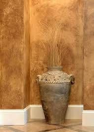 Faux Painting 101:Similar to rag-rolling, recreate the luxe look of leather