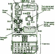 1998 ford e150 fuse panel diagram 1998 automotive wiring diagrams 2006 mirage sport main fuse box diagram