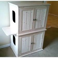 corner cat litter box furniture. Litter Box Cabinet Cat Clever Ideas Multiple . Corner Furniture
