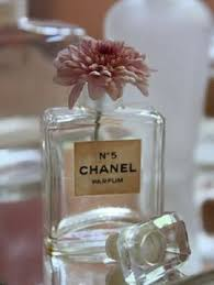 How To Decorate Perfume Bottles Vintage Authentic COCO Chanel Perfume Miniature Bottle embellished 42