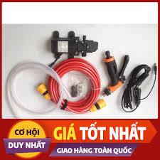 Rẻ Bất Ngờ] Bộ Máy bơm rửa xe tăng áp lực nước mini - 3418 [Hàng Tốt Giá Rẻ]