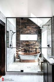 Rustic Contemporary Bathroom Magda Of Euro Style Interior Design