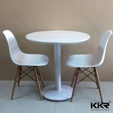 whole furniture custom made solid surface restaurant dining table 190107