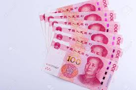 Six Chinese Currency 100 RMB Yuan Notes Arranged As Fan Isolated.. Stock  Photo, Picture And Royalty Free Image. Image 69507221.