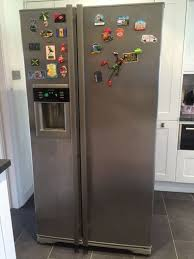 lamona deluxe american fridge freezer hja6110 supply and fitted by kitchen