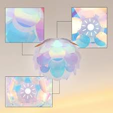 diy iq pendant ceiling light lamp shade suspension chandelier