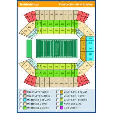 Campus World Stadium Seating Chart Camping World Stadium Orlando Event Venue Information
