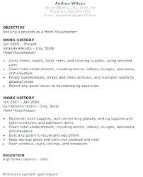 Sample Housekeeping Resume Cleaner Sample Resume Cleaner Sample Amazing Cleaner Resume