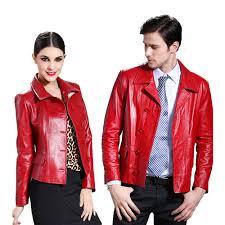 collar las leather 2018 fashion design natural genuine leather slim calf skin suit casual jacket short women s men s