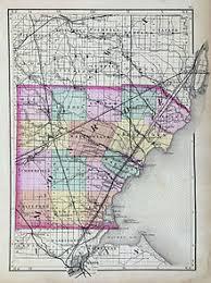 monroe county, michigan wikipedia Monroe County Ohio Road Map map of monroe county from 1873 road map of monroe county ohio