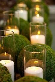 Decorating With Moss Balls 100'' Moss Balls Preserved Decor Moss Wedding Decor Woodland Moss 93