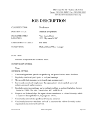 Medical Front Desk Resume Luxury 20 Medical Front Fice Resume ...