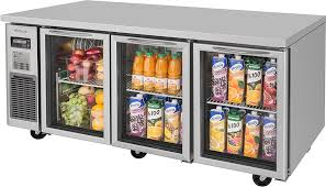 turbo air jur 72 g n 71 3 glass door undercounter refrigerator j series
