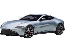 2019 Aston Martin Vantage Rhd Right Hand Drive Magnetic Silver 1 18 Model Car Autoart 70276